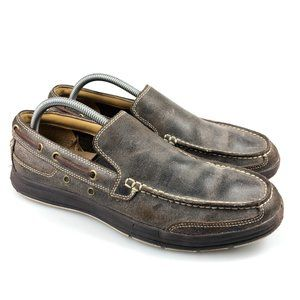 Cole Haan Mens C12360 Moc Toe Boat Shoe Loafer 8.5